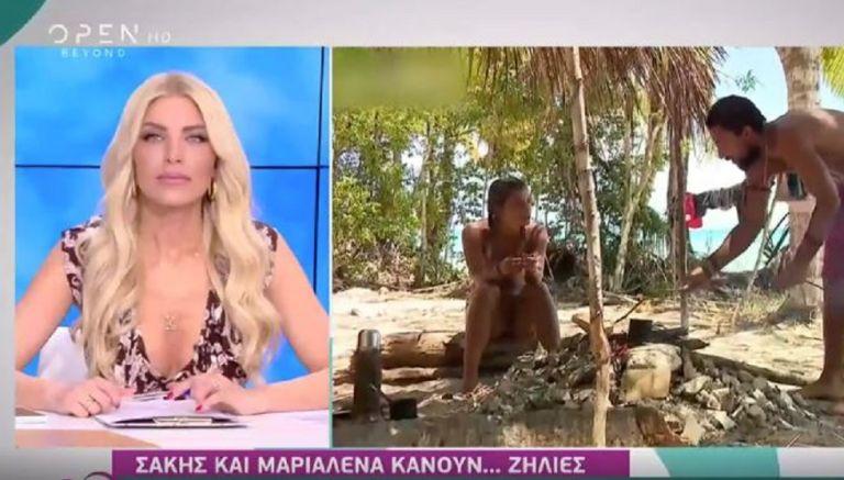 Survivor: Δεν φαντάζεστε τι ξεστόμισε on air η Καινούργιου για την Μαριαλένα!   to10.gr