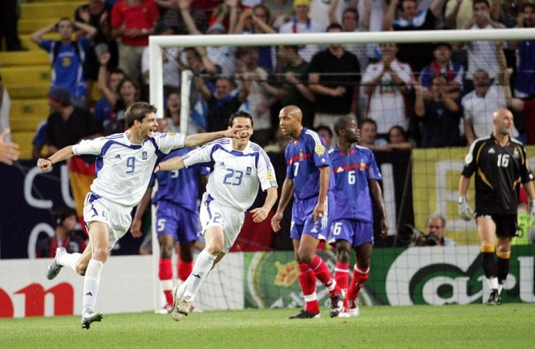 Euro 2004: Όταν ο Χαριστέας… ξέραινε τους Γάλλους (vid) | to10.gr