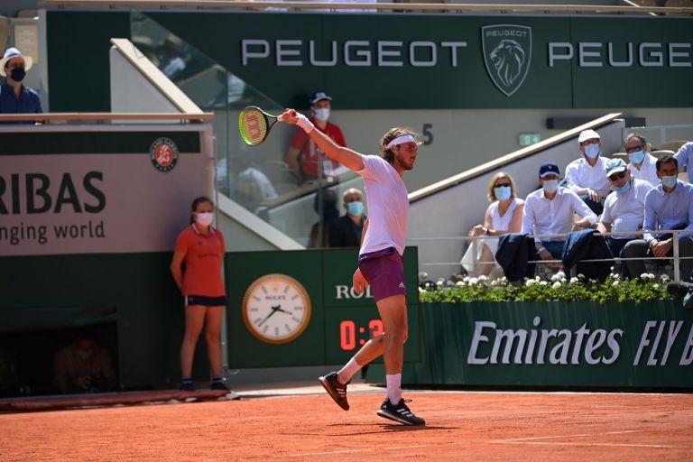 Ο πόντος που έστειλε τον Τσιτσιπά στον τελικό του Roland Garros (vid) | to10.gr
