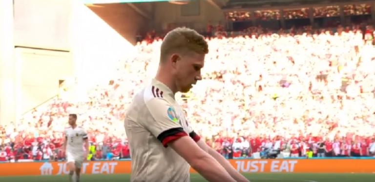 Δανία – Βέλγιο: Καταπληκτικό σουτ ο Ντε Μπρόινε για το 2-1 (vid)   to10.gr