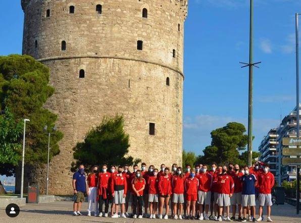 Ολυμπιακός: Η «καλημέρα» των πρωταθλητών από τον Λευκό Πύργο (pic) | to10.gr