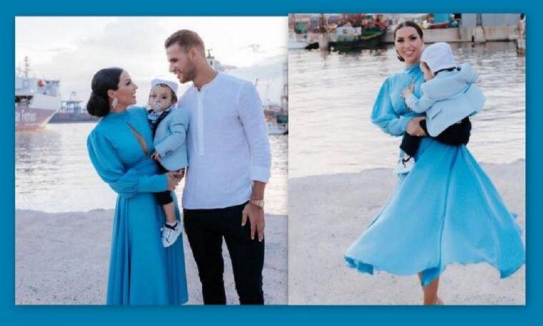Θεοδωροπούλου–Ταχτσίδης: Βάφτισαν τον γιο τους   to10.gr