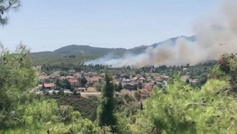 Μεγάλη φωτιά στη Σταμάτα Αττικής κοντά σε κατοικίες – Εκκενώνεται προληπτικά οικισμός   to10.gr