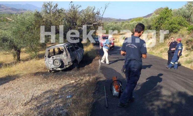 Φρίκη στην Κορινθία: Ο ιερέας Αλμυρής είναι ο νεκρός που εντοπίστηκε στο καμένο όχημα | to10.gr