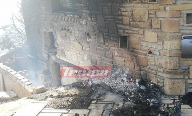 Στο έλεος της φωτιάς σπίτια στην Πάτρα – Οι πρώτες εικόνες | to10.gr