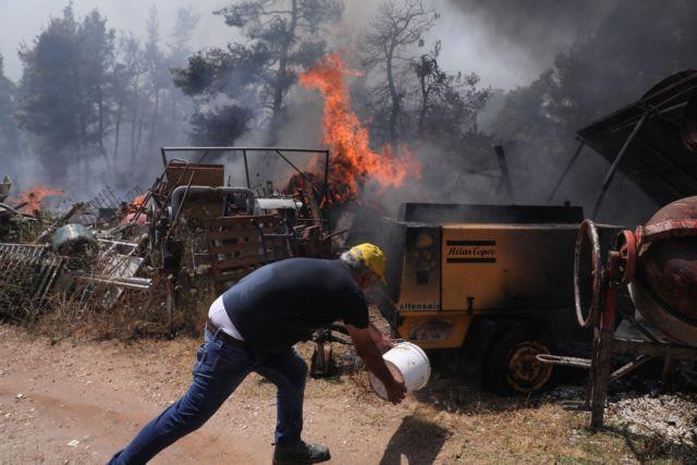 Φωτιά στην Αχαΐα: Ολονύχτια μάχη με τις πύρινες φλόγες – Σε εγρήγορση η Πυροσβεστική   to10.gr