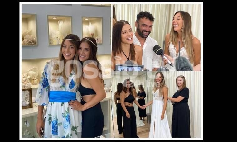Πρόβα νυφικού για τη Ματίνα Ζάρα – Ο Χούτος παντρεύεται με κουμπάρα τη Λάουρα Νάργες (pics)   to10.gr