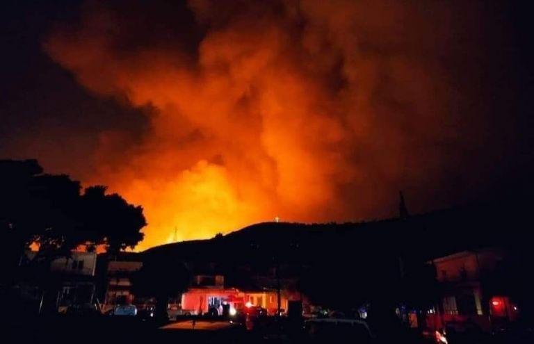 Ρόδος – Ολονύκτια μάχη με τις φλόγες – Ισχυροί άνεμοι δυσκολεύουν την κατάσβεση   to10.gr