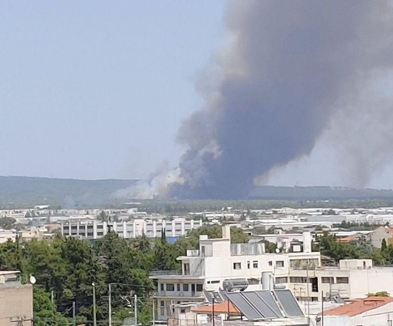 Μεγάλη φωτιά στη Βαρυμπόμπη – Κοντά στα πρώην βασιλικά κτήματα – Alert, κλείστε τα παράθυρα | to10.gr