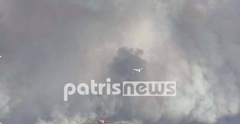 Πληροφορίες για εγκλωβισμένους στη μεγάλη φωτιά της Ηλείας   to10.gr