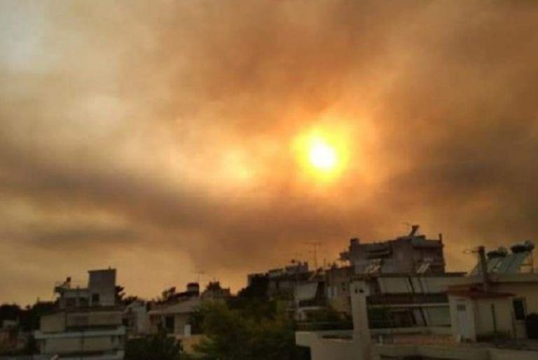 Φωτιά στη Βαρυμπόμπη – «Πνίγεται» στους καπνούς η Αττική – Δείτε φωτογραφίες | to10.gr