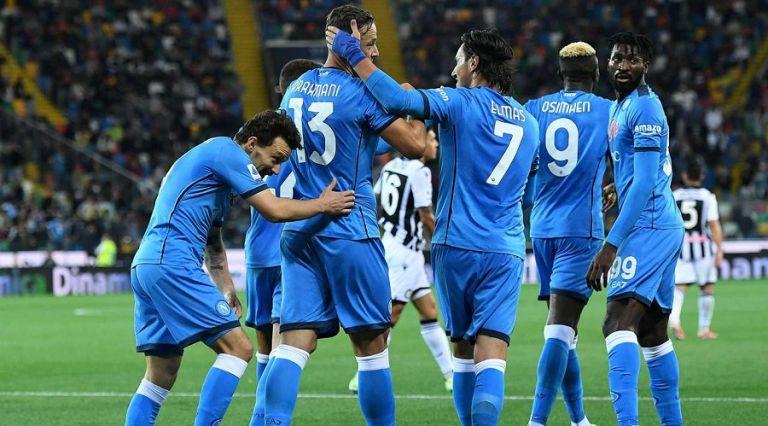 Ουντινέζε – Νάπολι 0-4 – Από το Ούντινε στην κορυφή | to10.gr