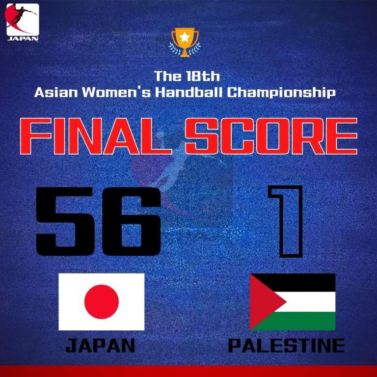 Απίστευτο – Ιαπωνία-Παλαιστίνη 56-1 σε αγώνα χάντμπολ | to10.gr