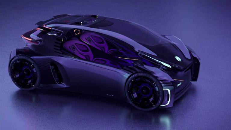 MG Maze Concept – Παιχνιδομηχανή σε τέσσερις τροχούς | to10.gr