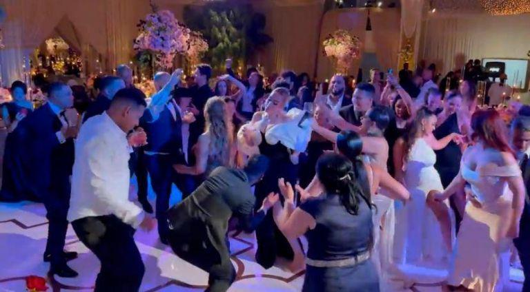 Έπος – Τρελό ξεφάντωμα ΛεΜπρόν και… Αντέλ στον γάμο του Ντέιβις (vids) | to10.gr