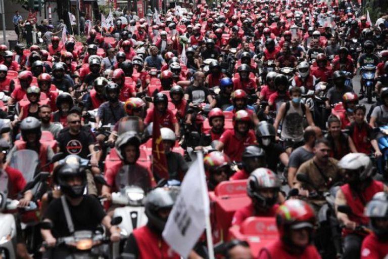 Efood – Κλιμακώνουν τις κινητοποιήσεις οι διανομείς με 24ωρη απεργία   to10.gr