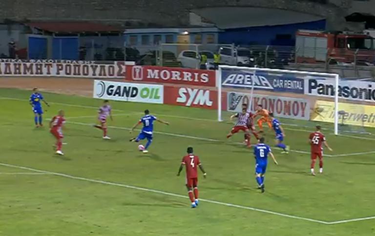 Ο Καραμάνος μείωσε σε 1-2 για τη Λαμία (vid) | to10.gr