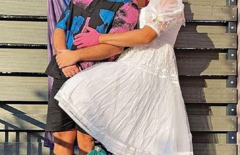 Ντυμένος νύφη στο Athens Pride παίκτης του Master Chef (pic)   to10.gr