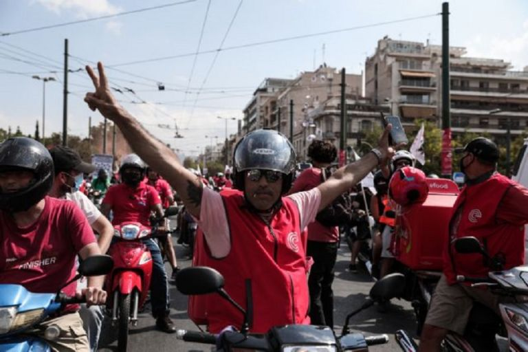 Efood – Η μεγαλύτερη πορεία που έκαναν ποτέ οι διανομείς  – 24ωρη απεργία την Παρασκευή | to10.gr
