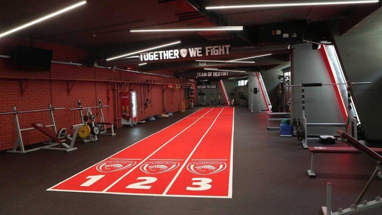 Ολυμπιακός – Το νέο γυμναστήριο του Θρύλου (pics, vid) | to10.gr