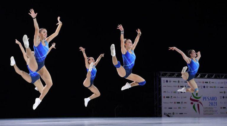 Έλαμψαν οι νεάνιδες της αεροβικής, με την τριπλή παρουσία τους στους τελικούς του ευρωπαϊκού πρωταθλήματος   to10.gr