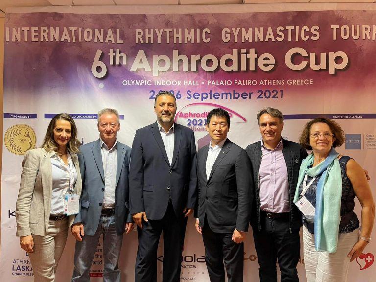 Επίσκεψη του Προέδρου της FIG Μορινάρι Γουατανάμπε στην Ελλάδα   to10.gr