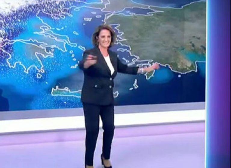 «Γειά σου Σούζη με τα ωραία σου» – Τον χορό της… κακοκαιρίας χόρεψε η μετεωρολόγος   to10.gr