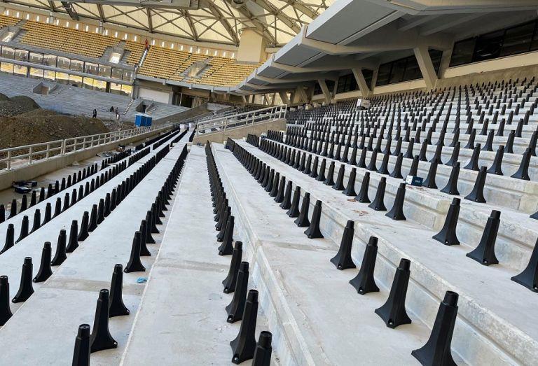 ΠΑΕ ΑΕΚ – «Ολα έτοιμα να ξεκινήσει η τοποθέτηση καθισμάτων και στο κάτω διάζωμα» (pics)   to10.gr