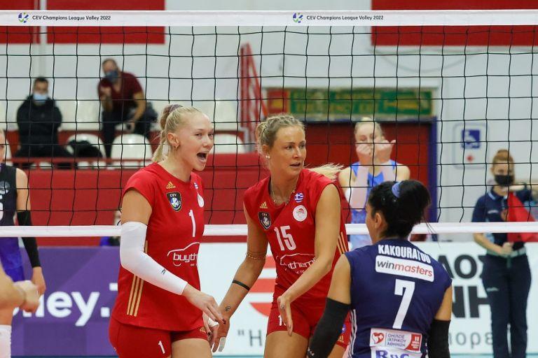 Μιντσάνκα Μινσκ – Ολυμπιακός 0-3 – Σάρωσαν στο Μινσκ τα Θρυλικά κορίτσια   to10.gr